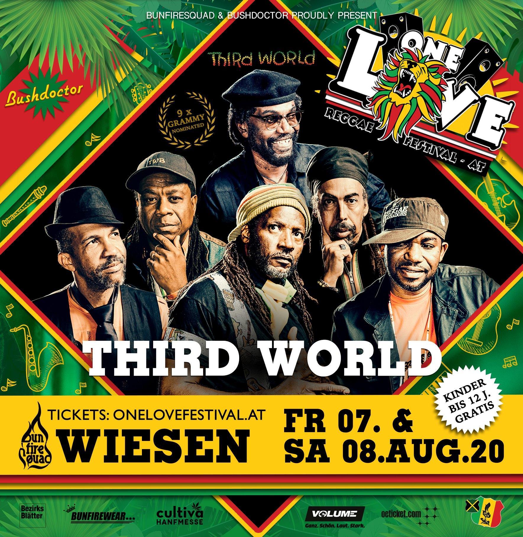 Third World One Love Festival 2020 Wiesen Austria
